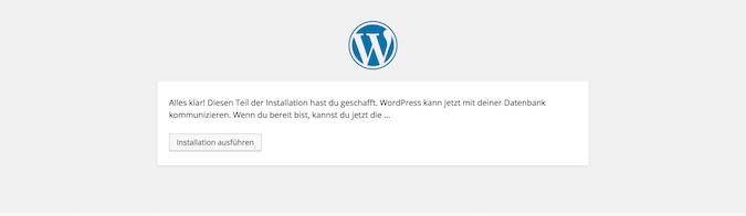 wordpress-installation-starten