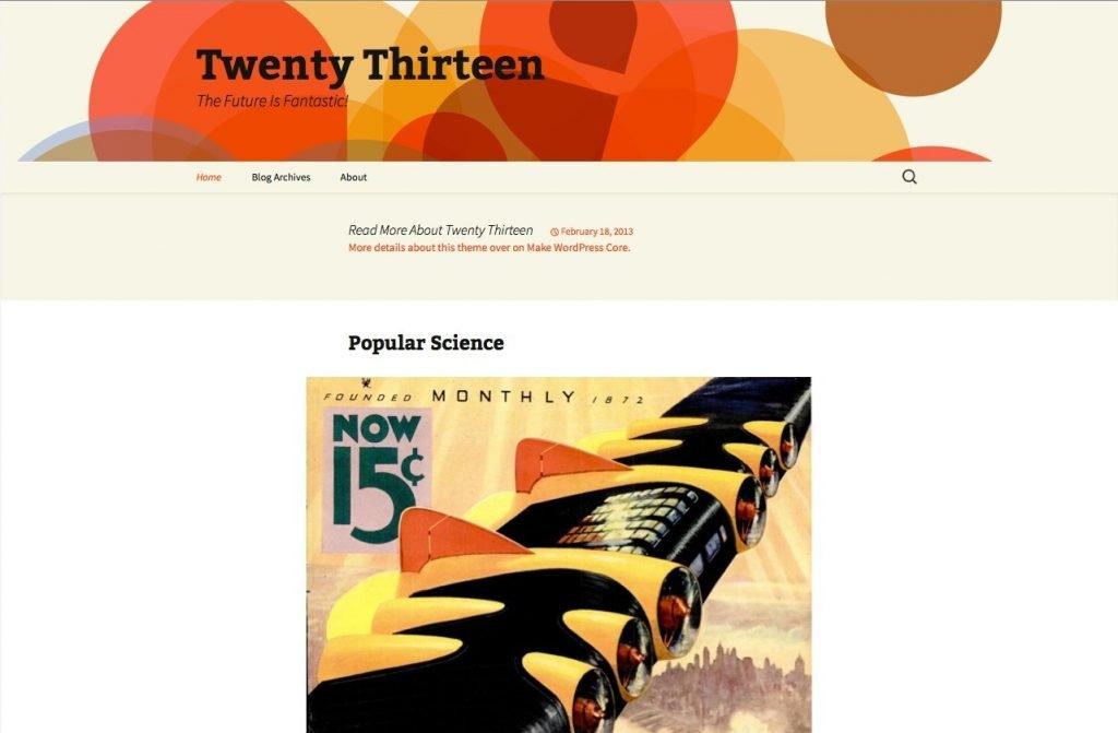 twenty-thirteen-theme-wordpress