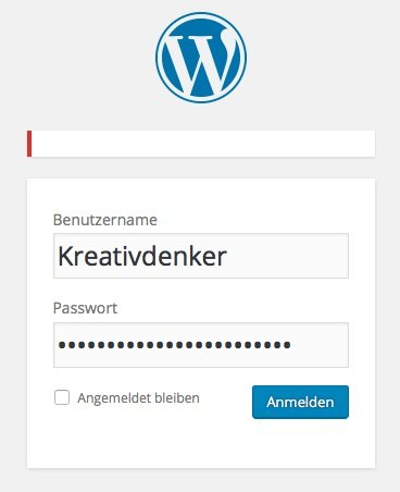 WordPress Login-Fehlermeldungen ausblenden