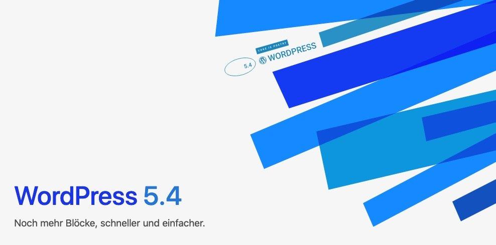 """WordPress 5.4 """"Adderley"""": Viele Neuerungen & Verbesserungen"""